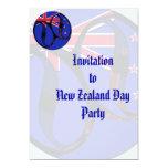 Nueva Zelanda #1 Invitación 12,7 X 17,8 Cm