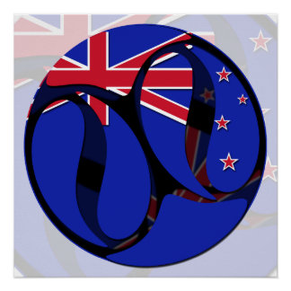 Nueva Zelanda #1 Perfect Poster