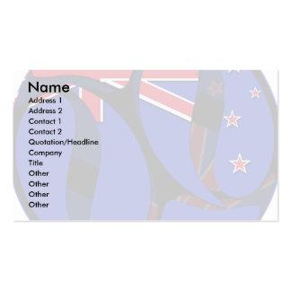 Nueva Zelanda 1 Plantilla De Tarjeta Personal