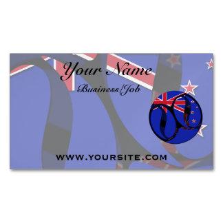 Nueva Zelanda #1 Tarjetas De Visita Magnéticas (paquete De 25)