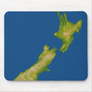 Nueva Zelanda 2 Alfombrilla De Ratón