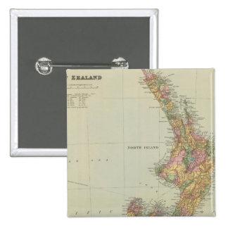 Nueva Zelanda 3 Pin Cuadrada 5 Cm