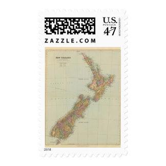 Nueva Zelanda 3 Sello Postal