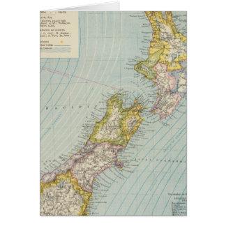 Nueva Zelanda 4 Tarjeta De Felicitación