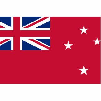 Nueva Zelanda, bandera de Nueva Zelanda Esculturas Fotograficas