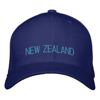Nueva Zelanda bordó el gorra Gorras De Beisbol Bordadas