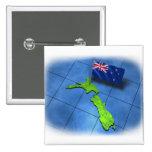 Nueva Zelanda con su propia bandera Pin