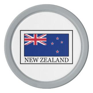 Nueva Zelanda Fichas De Póquer