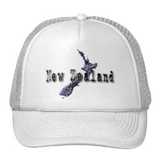 Nueva Zelanda Gorros Bordados