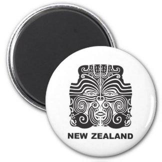Nueva Zelanda Imán Redondo 5 Cm