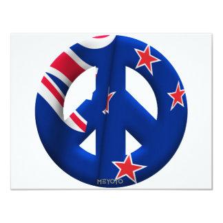 """Nueva Zelanda Invitación 4.25"""" X 5.5"""""""