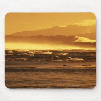 Nueva Zelanda, isla del sur, olas oceánicas y Alfombrilla De Ratón