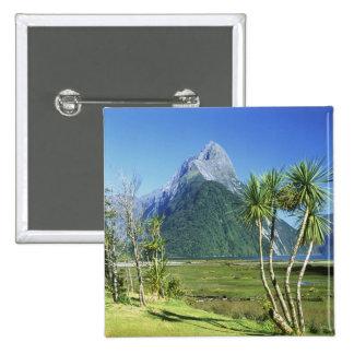 Nueva Zelanda, isla del sur, pico del inglete, Pin Cuadrado