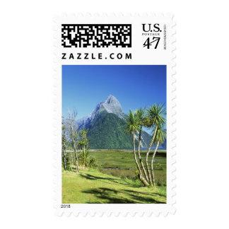 Nueva Zelanda, isla del sur, pico del inglete, Sello Postal