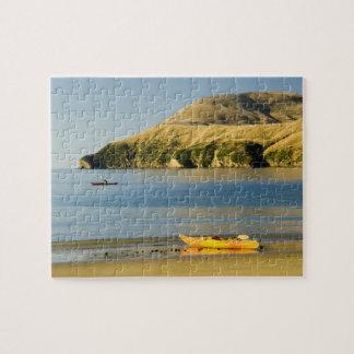 Nueva Zelanda, isla del sur, sonidos de Marlboroug Rompecabeza Con Fotos