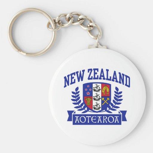 Nueva Zelanda Llaveros Personalizados