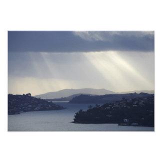 Nueva Zelanda, Otago, Dunedin, ejes ligeros encima Fotografías