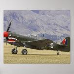Nueva Zelanda, Otago, Wanaka, Warbirds sobre 5 Poster