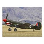 Nueva Zelanda, Otago, Wanaka, Warbirds sobre 5 Tarjetas Postales