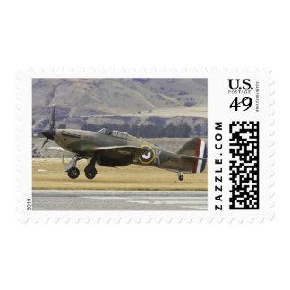 Nueva Zelanda, Otago, Wanaka, Warbirds sobre 6 Timbres Postales