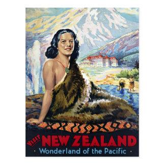 Nueva Zelanda: País de las maravillas del Pacífico Postales