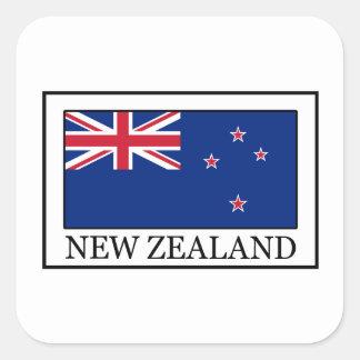 Nueva Zelanda Pegatina Cuadrada