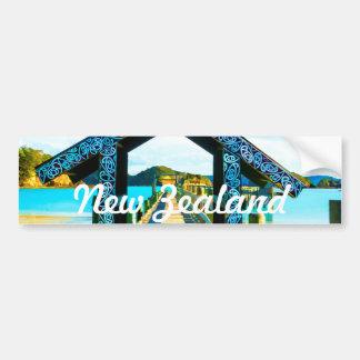 NUEVA ZELANDA - pegatinas para el parachoques Pegatina Para Auto