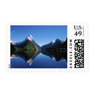 Nueva Zelanda, pico del inglete, Milford Sound, Estampilla