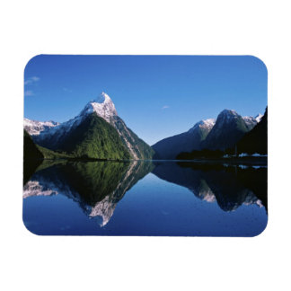 Nueva Zelanda, pico del inglete, Milford Sound, Rectangle Magnet