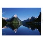 Nueva Zelanda, pico del inglete, Milford Sound, Tarjetón