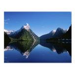 Nueva Zelanda, pico del inglete, Milford Sound, Postales