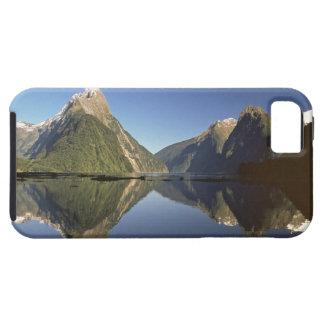 Nueva Zelanda, pico del inglete y Milford Sound, iPhone 5 Case-Mate Cobertura