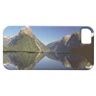 Nueva Zelanda, pico del inglete y Milford Sound, iPhone 5 Case-Mate Carcasas