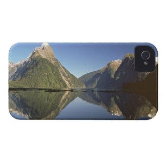 Nueva Zelanda, pico del inglete y Milford Sound, iPhone 4 Cárcasa