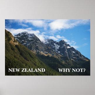 ¿NUEVA ZELANDA, POR QUÉ NO? PÓSTER
