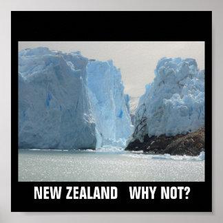 ¿NUEVA ZELANDA POR QUÉ NO? PÓSTER
