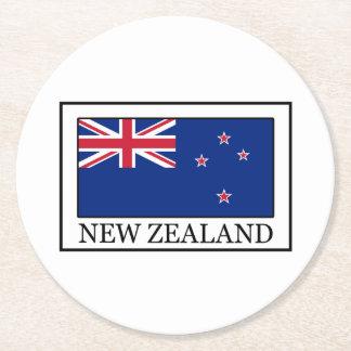 Nueva Zelanda Posavasos Personalizable Redondo