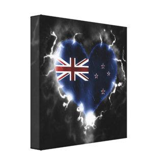 Nueva Zelanda potente Impresiones De Lienzo