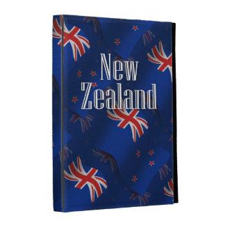 Nueva Zelanda que agita la bandera