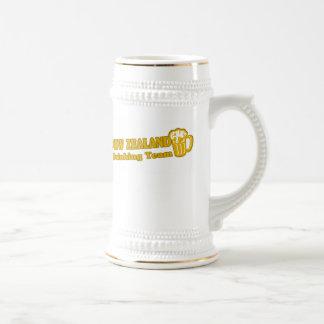 Nueva Zelanda que bebe al equipo Tazas De Café