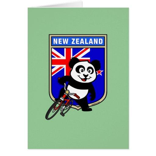 Nueva Zelanda que completa un ciclo la panda Tarjeta