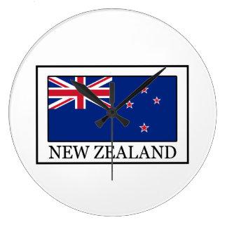 Nueva Zelanda Reloj Redondo Grande