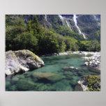 Nueva Zelanda, río de Cleddau por el camino de Mil Impresiones