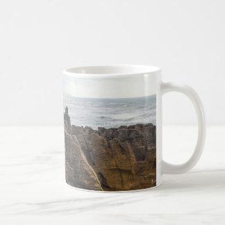Nueva Zelanda: Rocas de la crepe Taza De Café