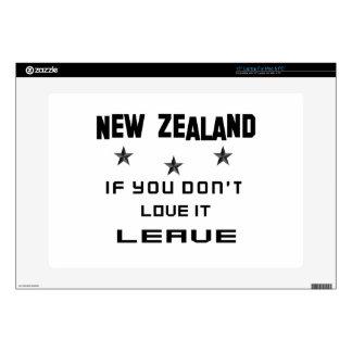 Nueva Zelanda si usted no lo ama, se va Portátil Calcomanía