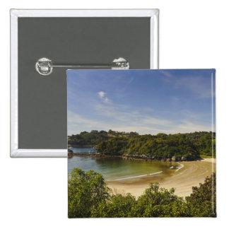 Nueva Zelanda, Southland, isla de Stewart, media l Pin Cuadrada 5 Cm