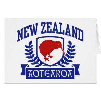 Nueva Zelanda Tarjeta De Felicitación