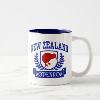 Nueva Zelanda Taza De Dos Tonos