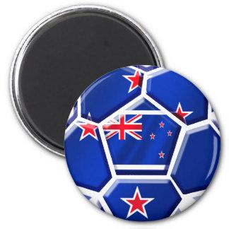Nueva Zelanda todo el engranaje de los regalos 201 Imán Redondo 5 Cm