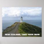Nueva Zelanda, toma su poster de la momia FOTC